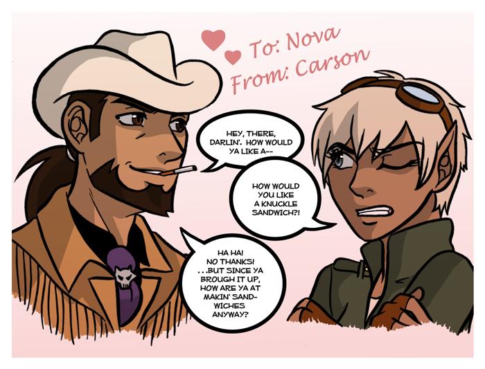 Carson's Valentine to Nova